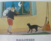 Sale! Sale! Sale! Halloween Poem from Child's Schoolbook from the 1930's