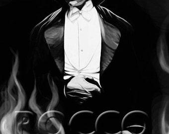 Bela Dracula Digital painting