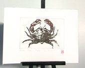 Crab - Original Etching