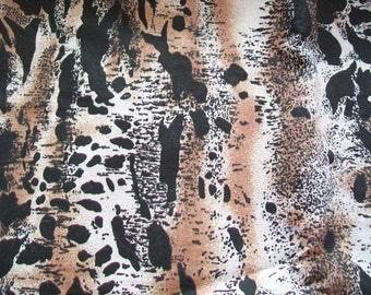 Vintage Fabric Destash - Animal Print Fabric