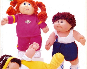 Butterick 3920 Cabbage Patch Kids Clothes Sewing Pattern - Uncut