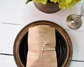 Custom Brown Kraft Bread Bag For Tessie