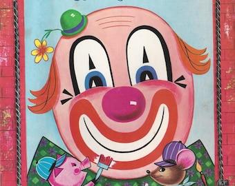 Jolly Vintage Coloring Book, C1975