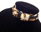 Leopard Choker: Bow