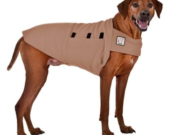 RHODESIAN RIDGEBACK Tummy Warmer, Dog Coat, Dog Sweater, Fleece Dog Coat
