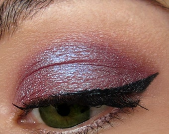 CRUSH Dark Brown Purple Mineral Eyeshadow Iridescent Shimmer