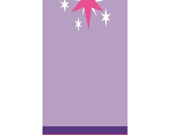 Twilight Sparkle My Little Pony Friendship is Magic Bookmark