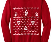 Special Price Zelda Ugly Christmas Sweater inspired -Sweatshirt - Unisex Sizes