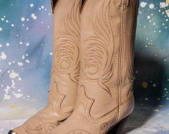 High Heel Women's COWBOY Boot Size 8