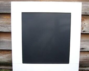Kitchen Chalkboard - White Blackboard - Rustic Memoboard - Plain Chalkboard - Family Noteboard - Home Decor UK - Kitchen Organiser