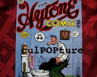 Your Hytone Comix 1971 Robert Crumb Adult Content Underground Alternative Mr Natural Horny Harriet Hotpants Stinko the Clown