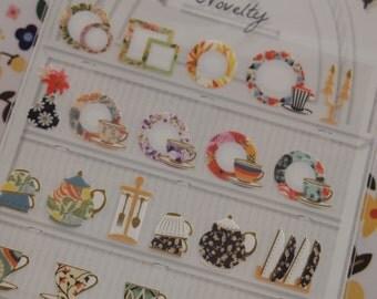 Elegance Tea Cup Sticker (1 sheet)