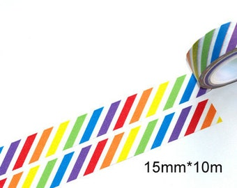 Rainbow Washi Tape (10M)