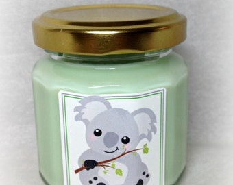 Koala Cub Baby Shower Favor Candle, Baby Shower Favor, Neutral Gender Baby Shower Favor, Favor Candle