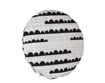 SALE. Round Cushion Rainy days Round pillows Chair pads Chair pillow Chairpads