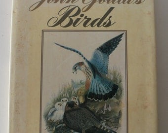 vintage book, John Gould's Birds, 1981, large format coffee table book from Diz Has Neat Stuff