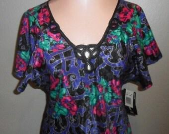 Satin Lucie Ann Satin Chemise Vintage Nightgown Nightie