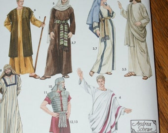 New Simplicity Andrea Schewe Adult Biblical Costumes  Pattern 4213 Size Xs - Xl