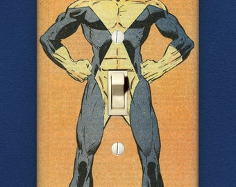 Cyclops - Superhero Light Switch Plate