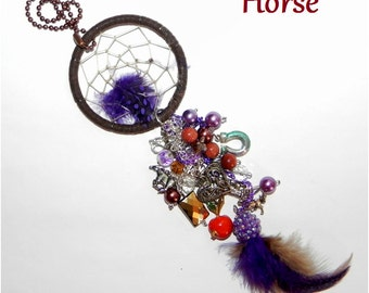 how to make a horseshoe dreamcatcher video