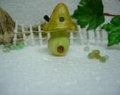 Miniature Mushroom House for terrarium , fairy garden ,gnome garden , dollhouse garden , miniature garden