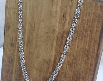 Tiny Byzantine Necklace - Ready To Ship