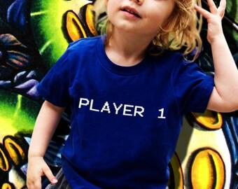 Player 1 Kids' T-Shirt