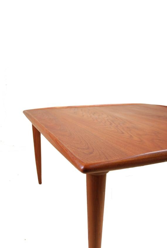 Mid Century Modern Danish Square Teak Coffee Table by Moreddi : il570xN6727589669gu1 from www.etsy.com size 570 x 849 jpeg 31kB