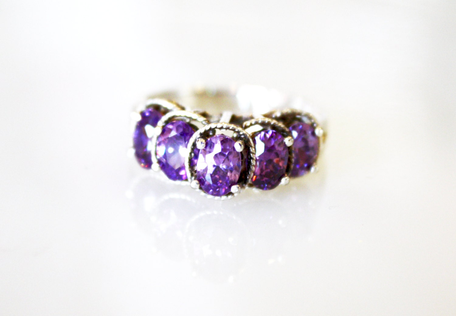 amethyst ring vintage - photo #33