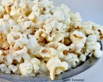GARLIC PARMESAN CHEESE Freedom Snacks Savory Handcrafted Gourmet Popcorn