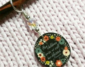 Her Children Arise and Call Her Blessed Proverbs 31:28 Chalkboard NON SNAG Stitch Marker