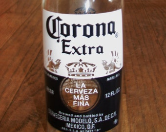 Corona beer bottle tumbler