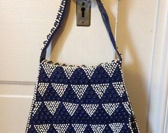 60s Mod Beaded Handbag