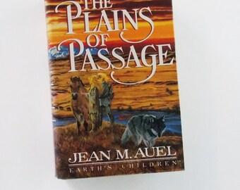 The Plains of Passage - 1st. ed - by Jean M. Auel