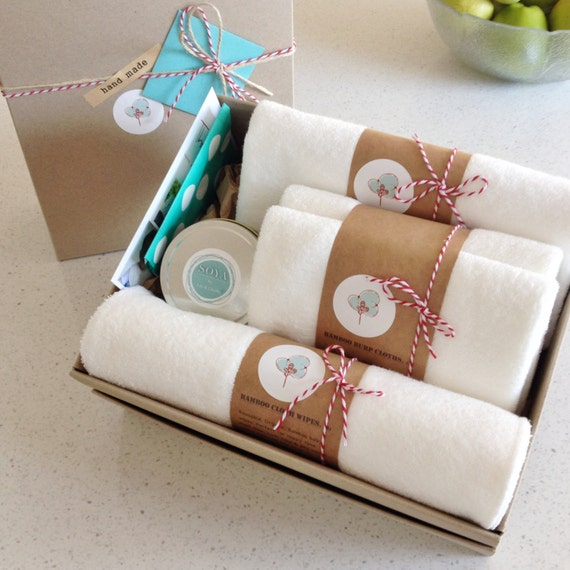 Baby Gift Item : New baby gift box my most popular organic bamboo items