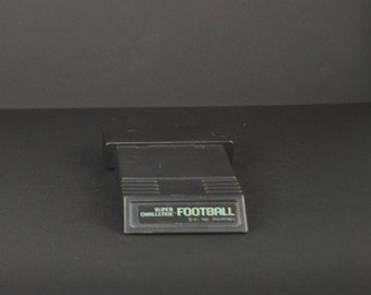 Atari 2600 Super Challenge Football Game From Mattel 1982 - video game - vintage atari 2600 - vintage atari game - retro - game cartridge