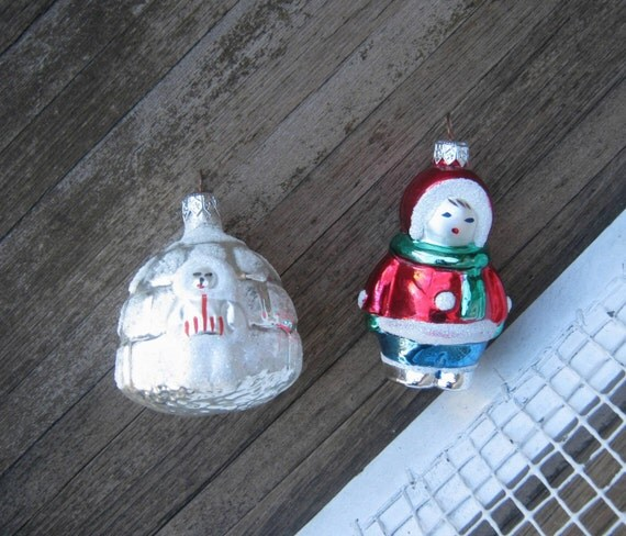 Collectible north pole ornaments vintage igloo ornament - Igloo vintage ...