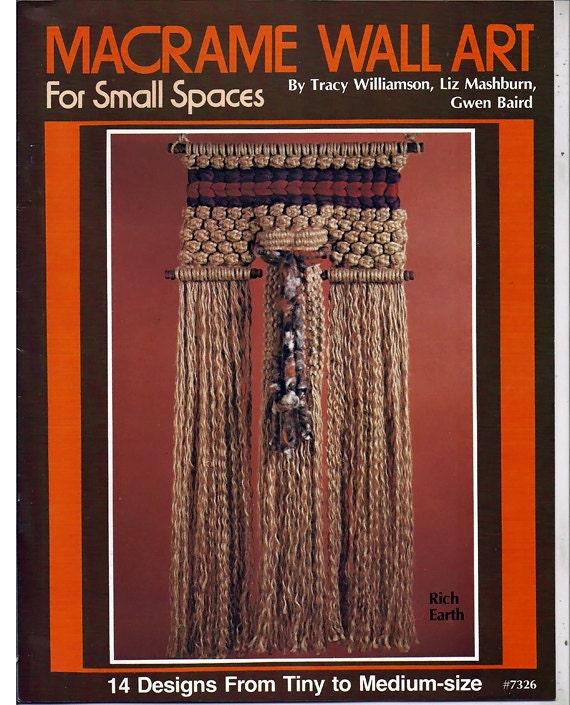 Free Vintage Macrame Pattern Book Macrame Elegance Book 2