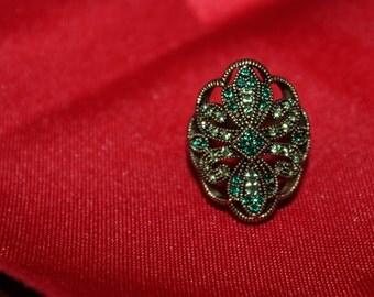Art Nouveau Style BARSE Ring