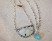 Sand Dollar Necklace Great Gift for Ocean Beach Lover Real Sand dollar Hand soldered 24 inch christmas birthday gift chain