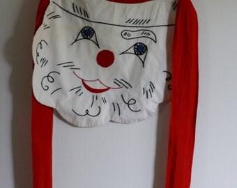 Vintage Santa Apron// vintage Christmas