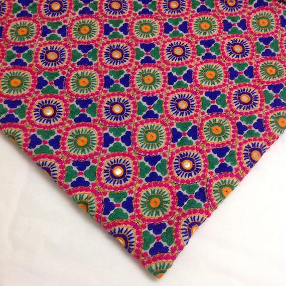 Kutch work embroidery makaroka