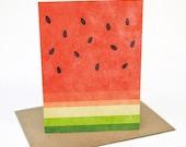 Watermelon -  Greeting card
