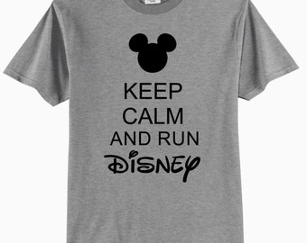 Keep Calm and Run Disney - Adult T-Shirt