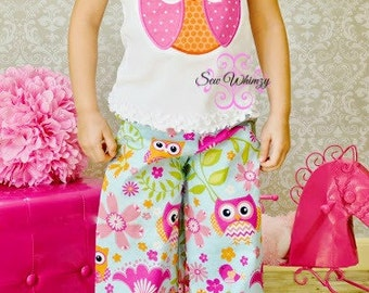Owl shirt or bodysuit- girl owl shirt- owl outfit