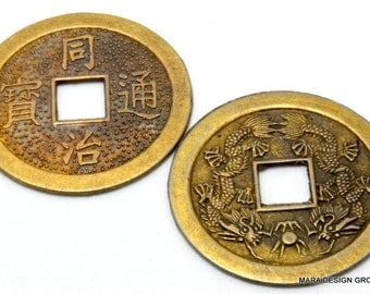 chinese coin - brass - 38mm