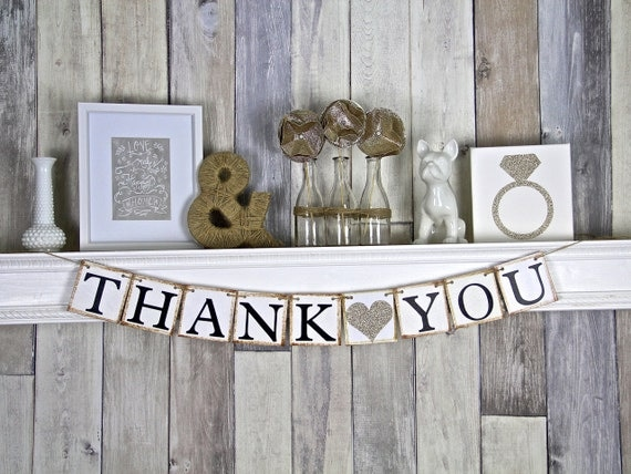 Delicate image for thank you banner printable