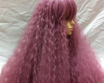 Castella // Pink Full Synthetic Wig