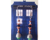 Sonic Screwdriver Earrings - Doctor Who - Matt Smith - 11th Doctor