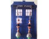 Sonic Screwdriver Earrings - Doctor Who - Matt Smith - 11th Doctor